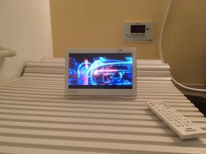 お風呂で見られるテレビ!