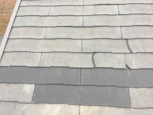スレート屋根一部修繕工事