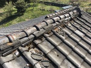 気になる屋根の状態 瓦屋根