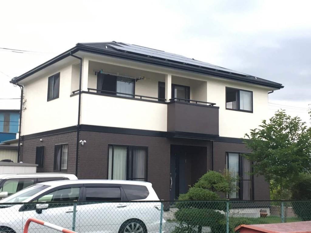 塗装・太陽光設置工事