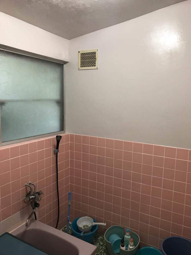 浴室塗装工事