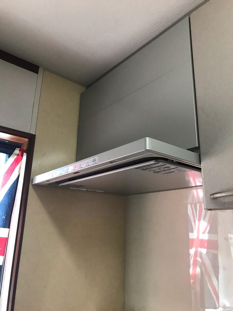 トイレ改修・レンジフード・コンロ取替工事