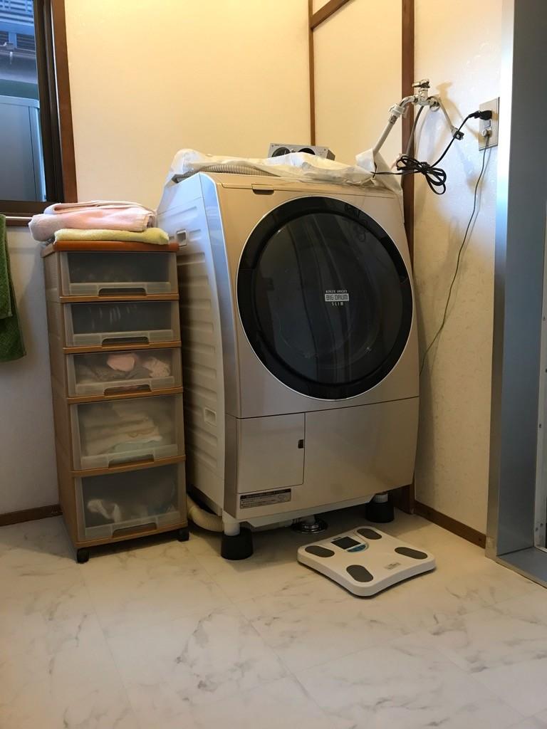 洗面内装工事