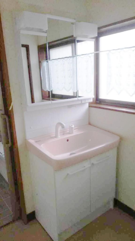 トイレ・洗面改修工事