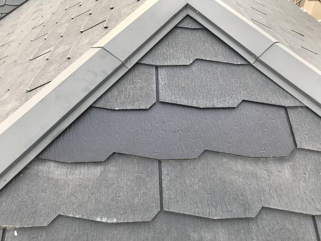 スレート屋根一部交換工事