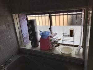 お風呂リフォーム 出窓