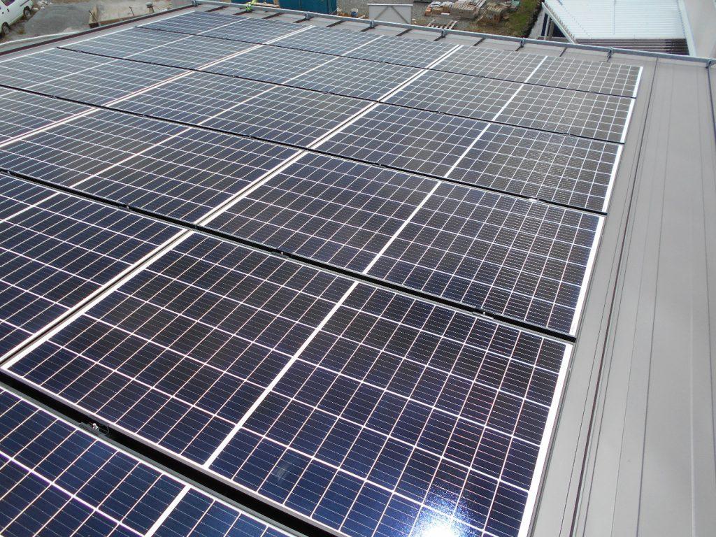 【南アルプス市】太陽光発電設置工事AFTER画像