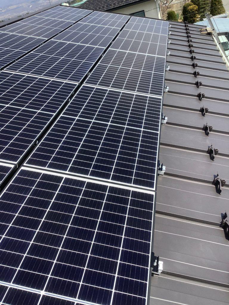 【南アルプス市】太陽光設置工事