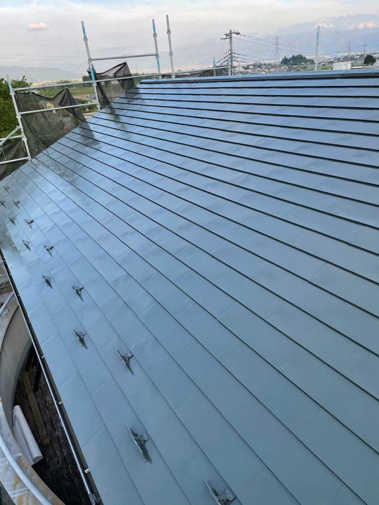 【山梨県】屋根外壁改修工事
