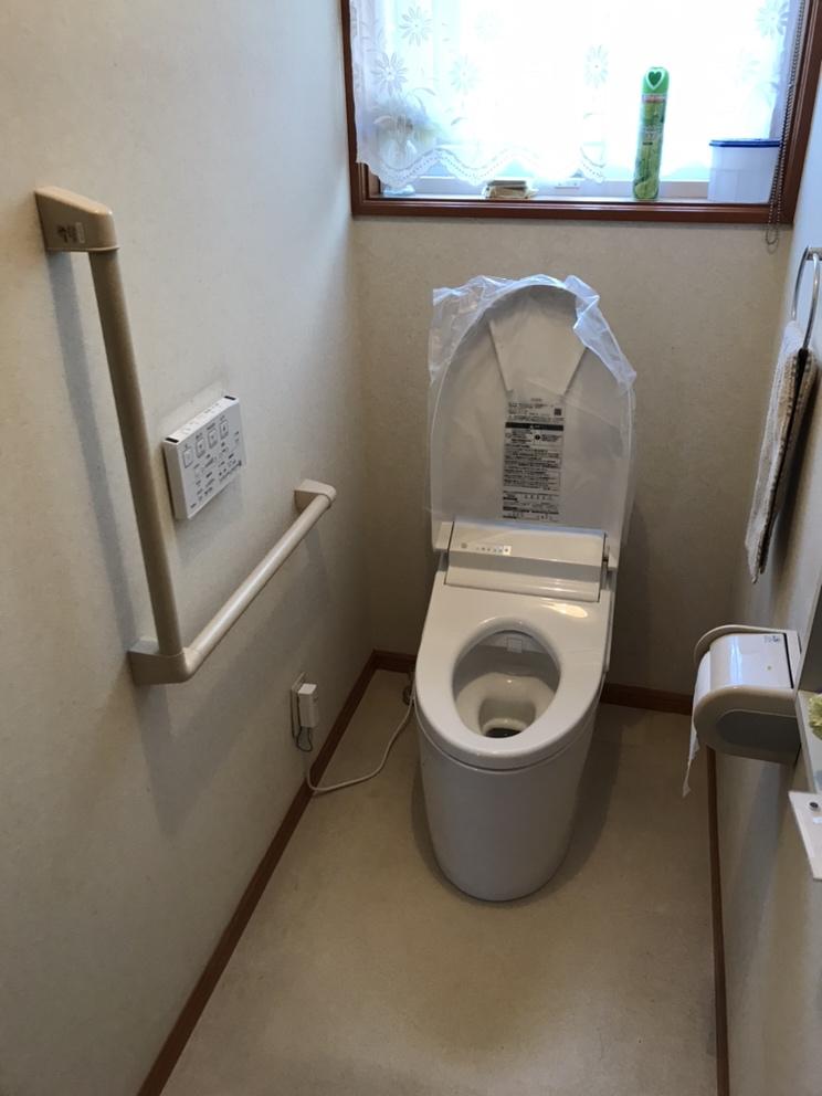 【甲府市】トイレ交換工事AFTER画像