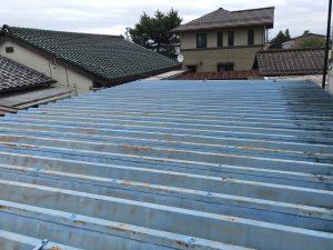 屋根外壁・車庫屋根塗装 ラジカル塗装
