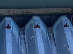 折半屋根 ボルト さび防止 ボルトキャップ